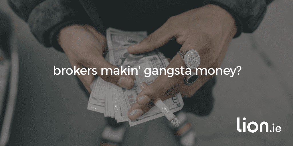 gangster counting money
