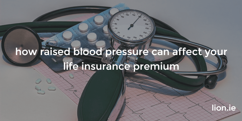 raised blood pressure and life insurance picture of blood pressure monitor