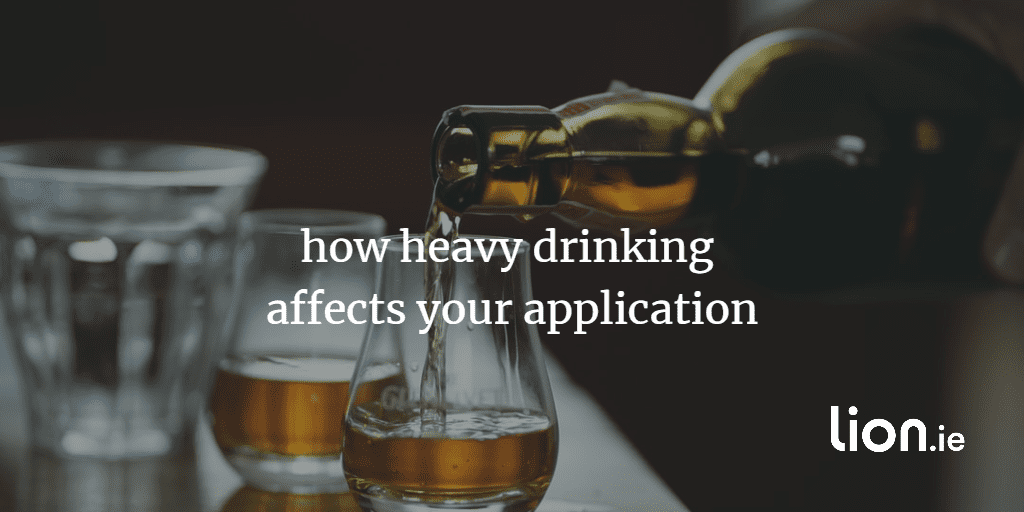 how heavy drinking affects your life insurance