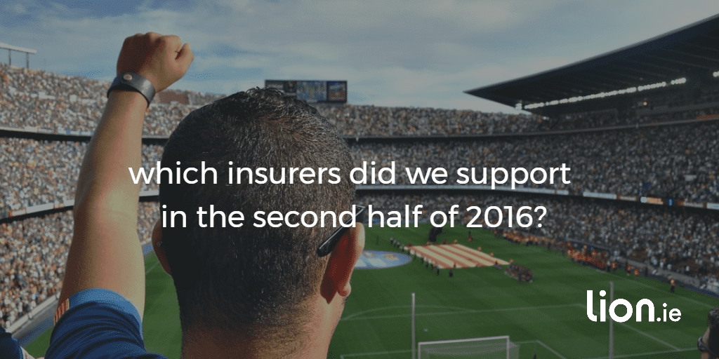 which insurers did we support in 2016?