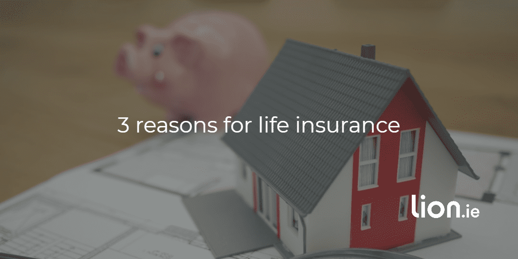 reasons you need life insurance text on the bacground image of a worried cuddly toy