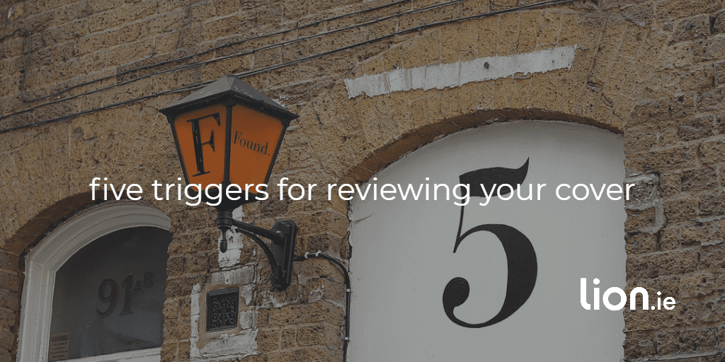 five triggers for reviewing your cover text on image of number 5
