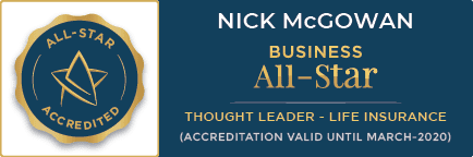 Business All Star Accredited Life Insurance Badge