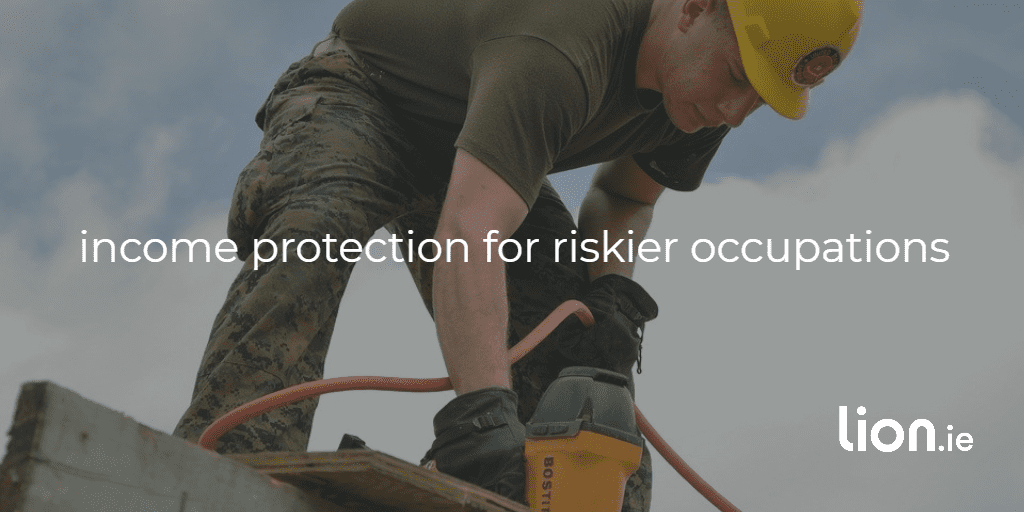 income protection riskier occupations