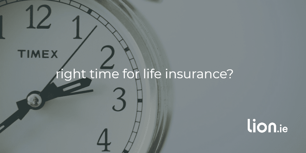 time for life insurance