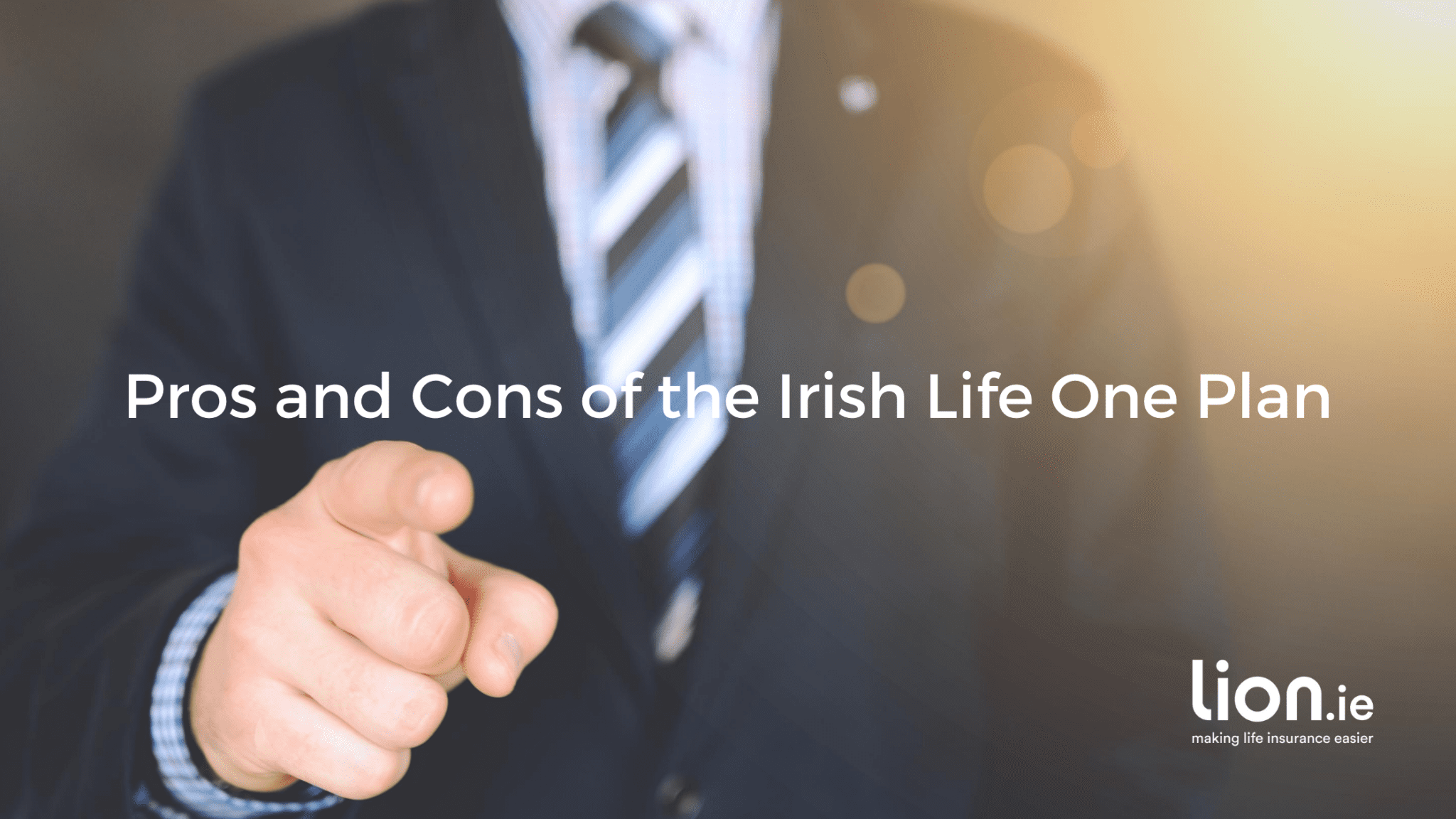 pros and cons of the irish life one plan