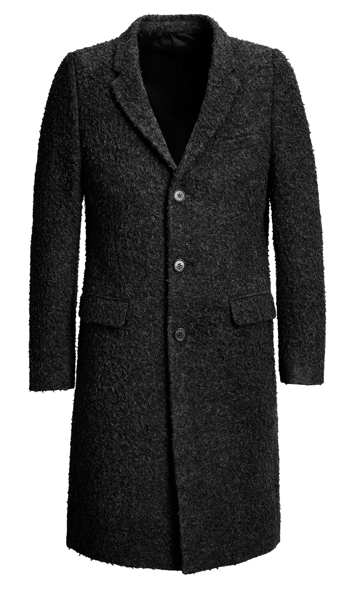 Wool Pea Coat from H&M – Looks Great with Everything, from Jeans to a Suit