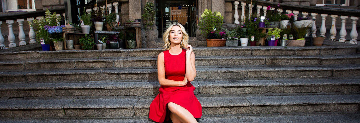 Pippa O'Connor – Face of Dublin Fashion Festival 2015