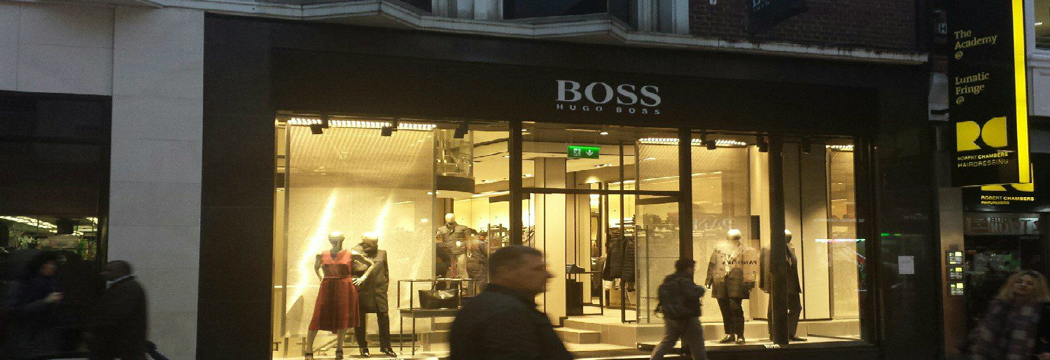 Hugo Boss on Grafton Street