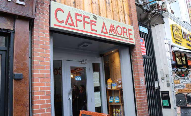 New Spots: Caffe Amore