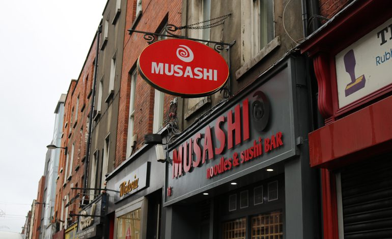 places to eat on henry street - musashi