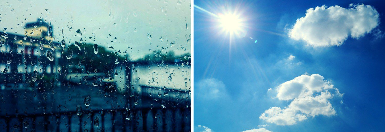 A Dry and Wet Weather Plan You Can Live By This Weekend