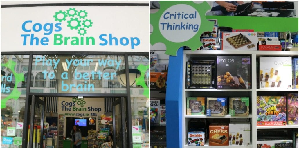 Cogs The Brain Shop – Play your way to a better brain