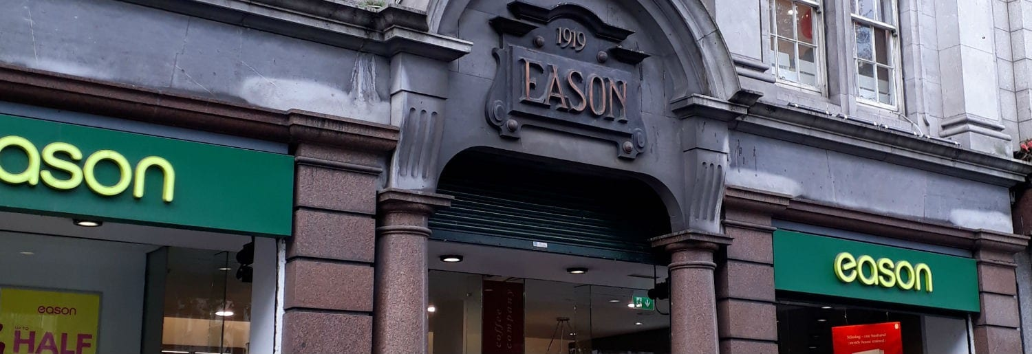 Inside Eason's Multi-Million Euro Makeover