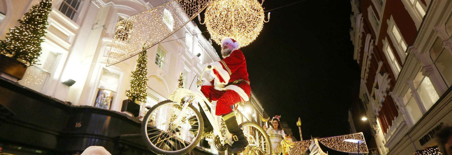 Santa Claus is coming to Dublin Town!