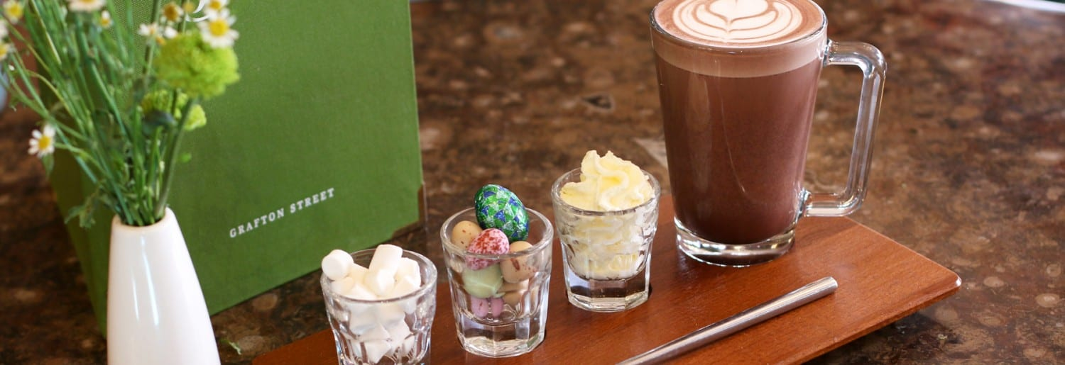 Easter Bunnies hop to Bewley's Grafton St