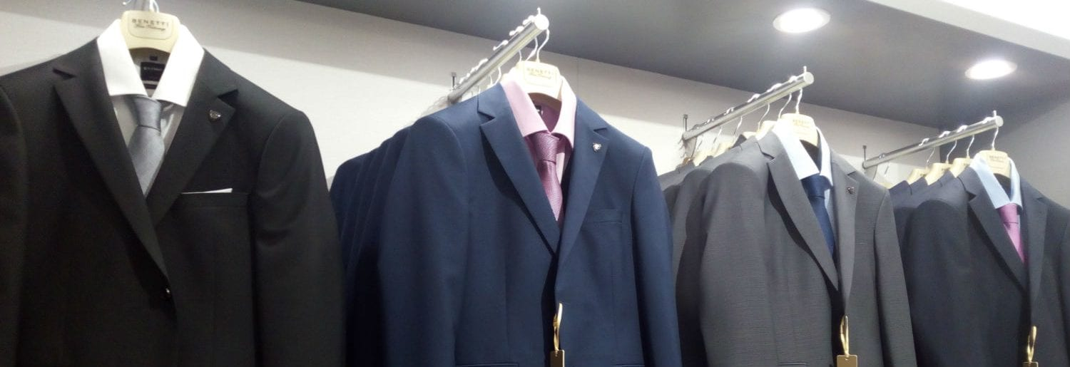 Stock up on your suit collection at Diffney's Dublin