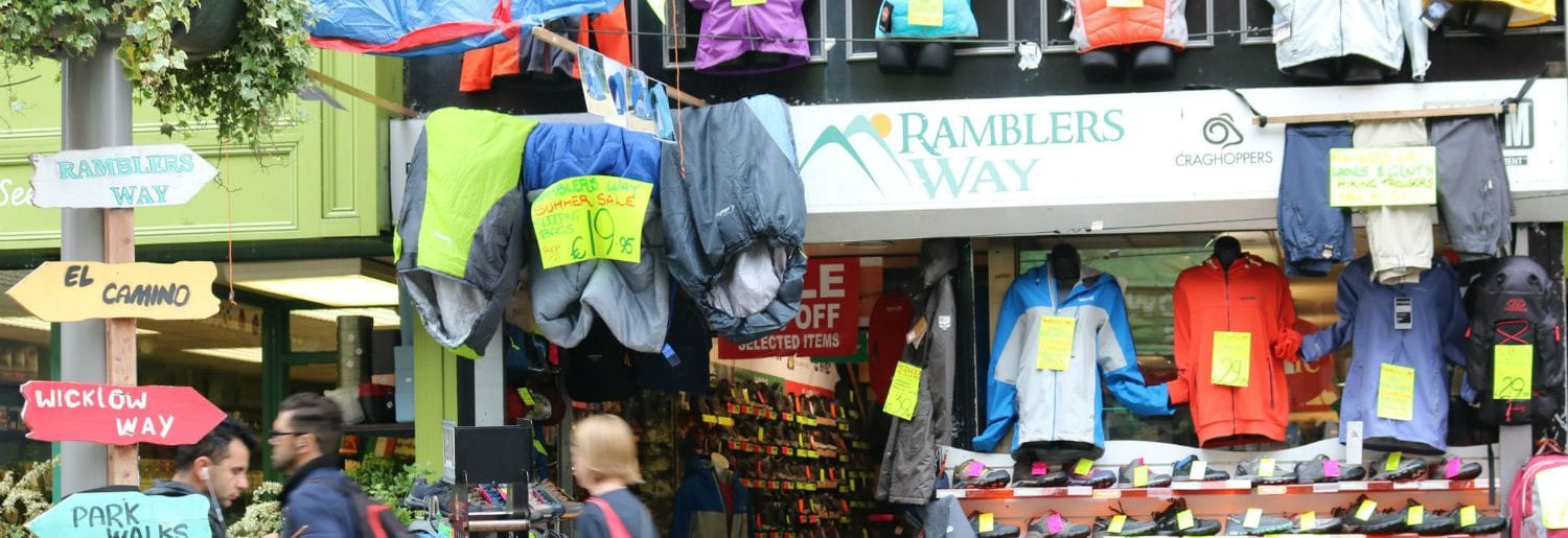 Ramblers Way Outdoor and Camping Store Dublin