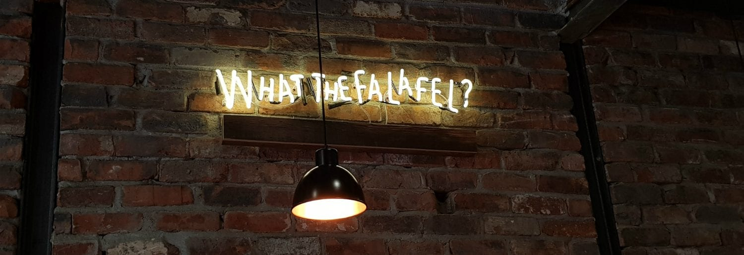 What The Falafel Opens Two-Floored Vegetarian Haven on Stephen Street Lower