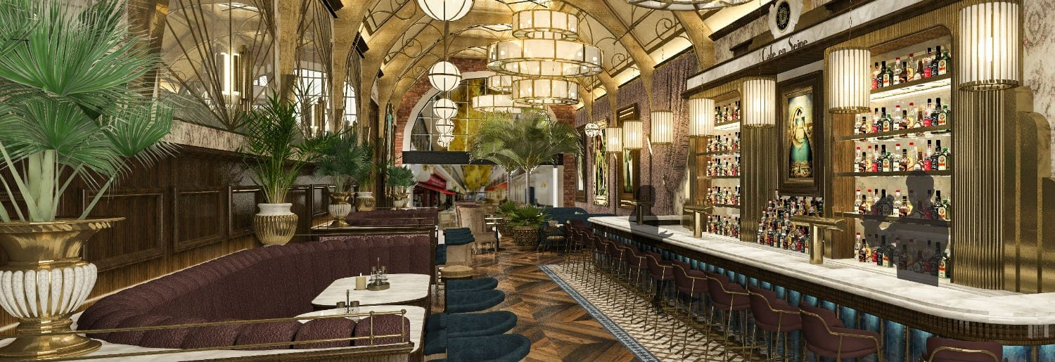 New Look: Cafe en Seine to Reopen in November