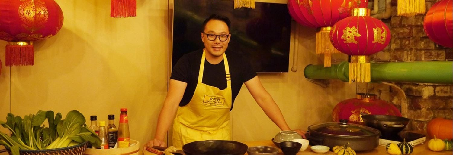 Shop and Cook with Kwanghi Chan at the Asia Market