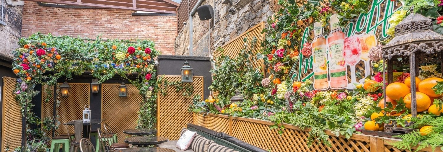 Smirnoff Infusions Brings its Fruity Taste Outdoors to Nolita