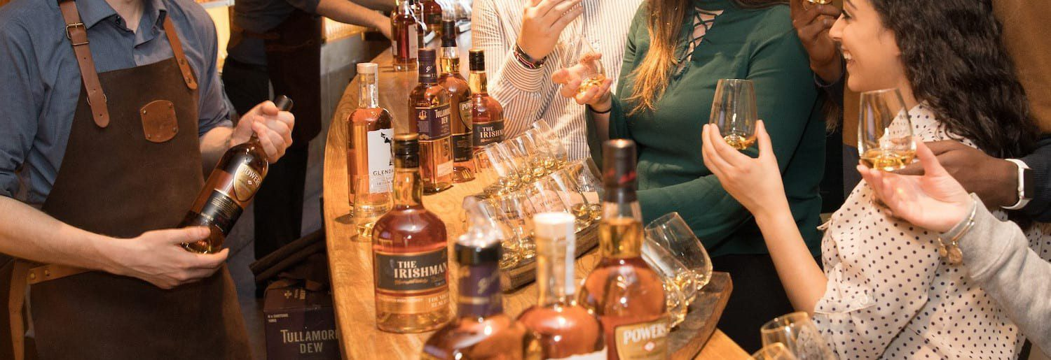 Four Corners of Ireland: Whiskey and Cheese Pairing Evening at Irish Whiskey Museum