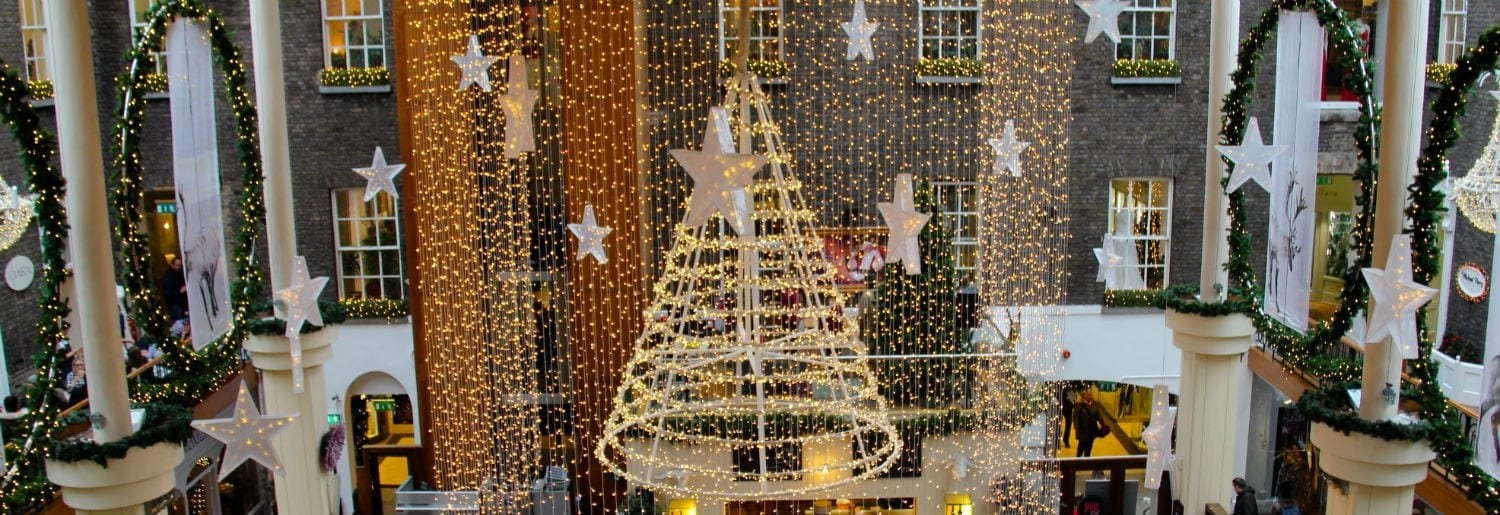 Christmas Lights Switch on at Powerscourt Centre