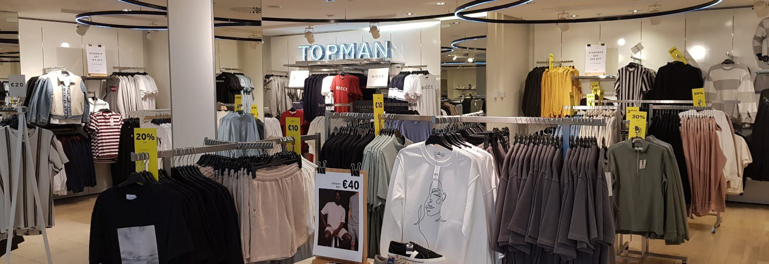 TOPMAN Moves into Topshop Stephen's Green