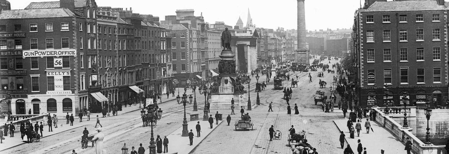 The History of O'Connell Street