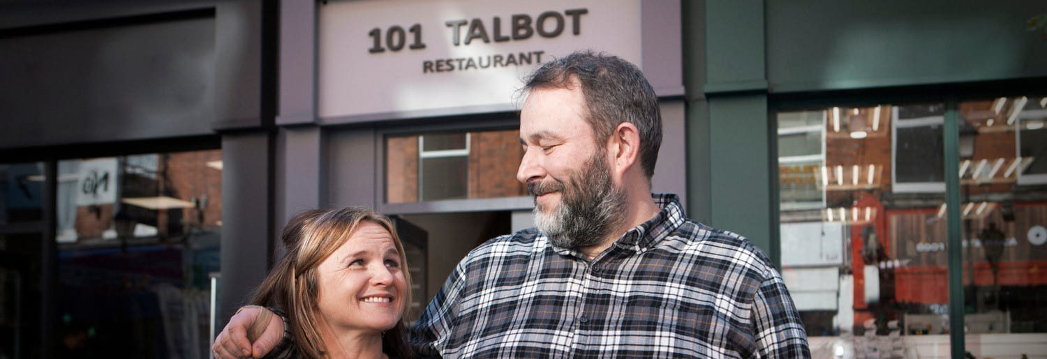 Jenny and Neal Magee of 101 Talbot