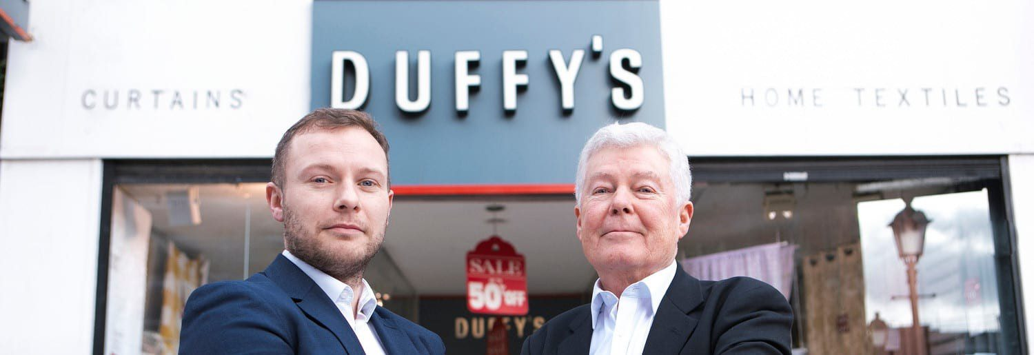 Tom and Tom Duffy of Duffy's Curtains