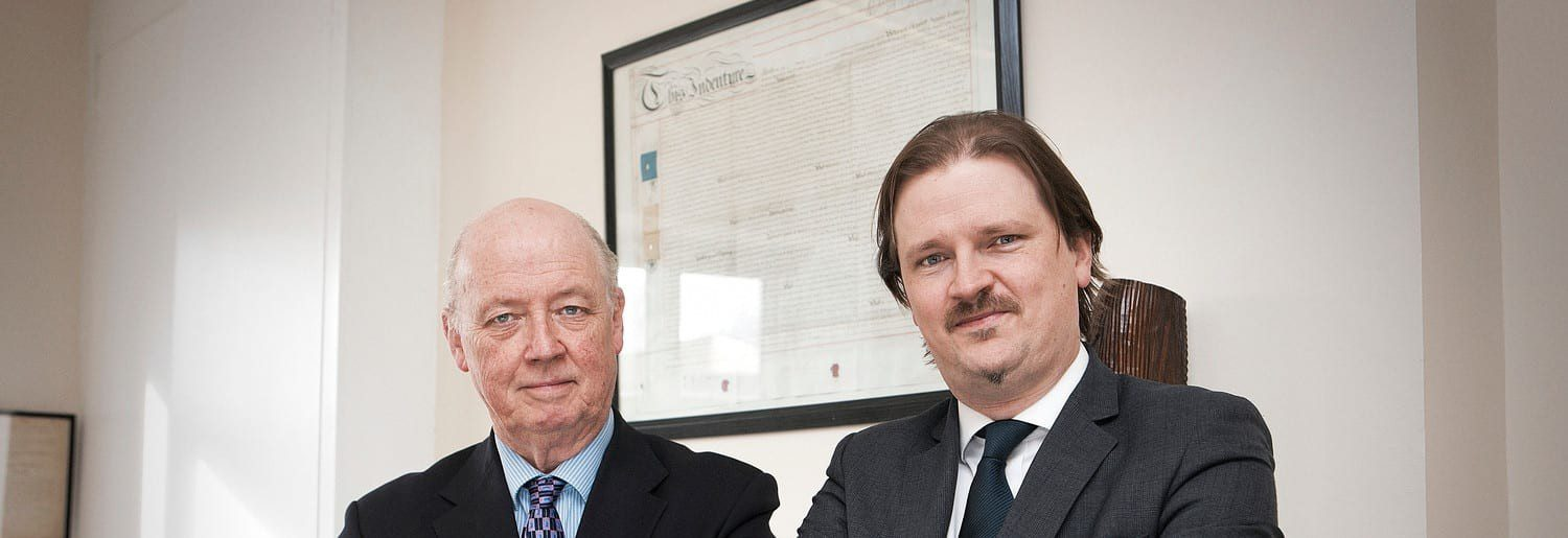 David and Ross of David McMahon & Co. Solicitors