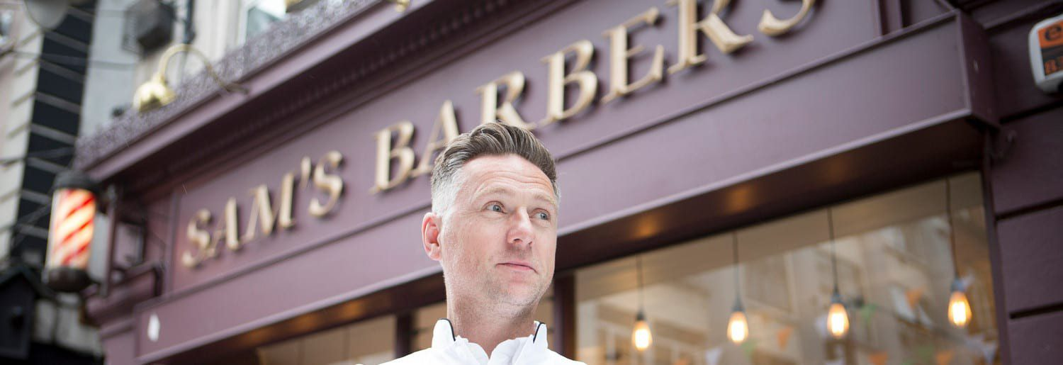 Sam Donnelly of Sam's Barbers