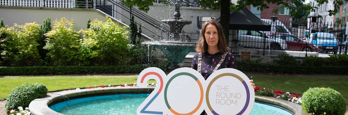 LORD MAYOR LAUNCHES ROUND ROOM 200 EXHIBITION