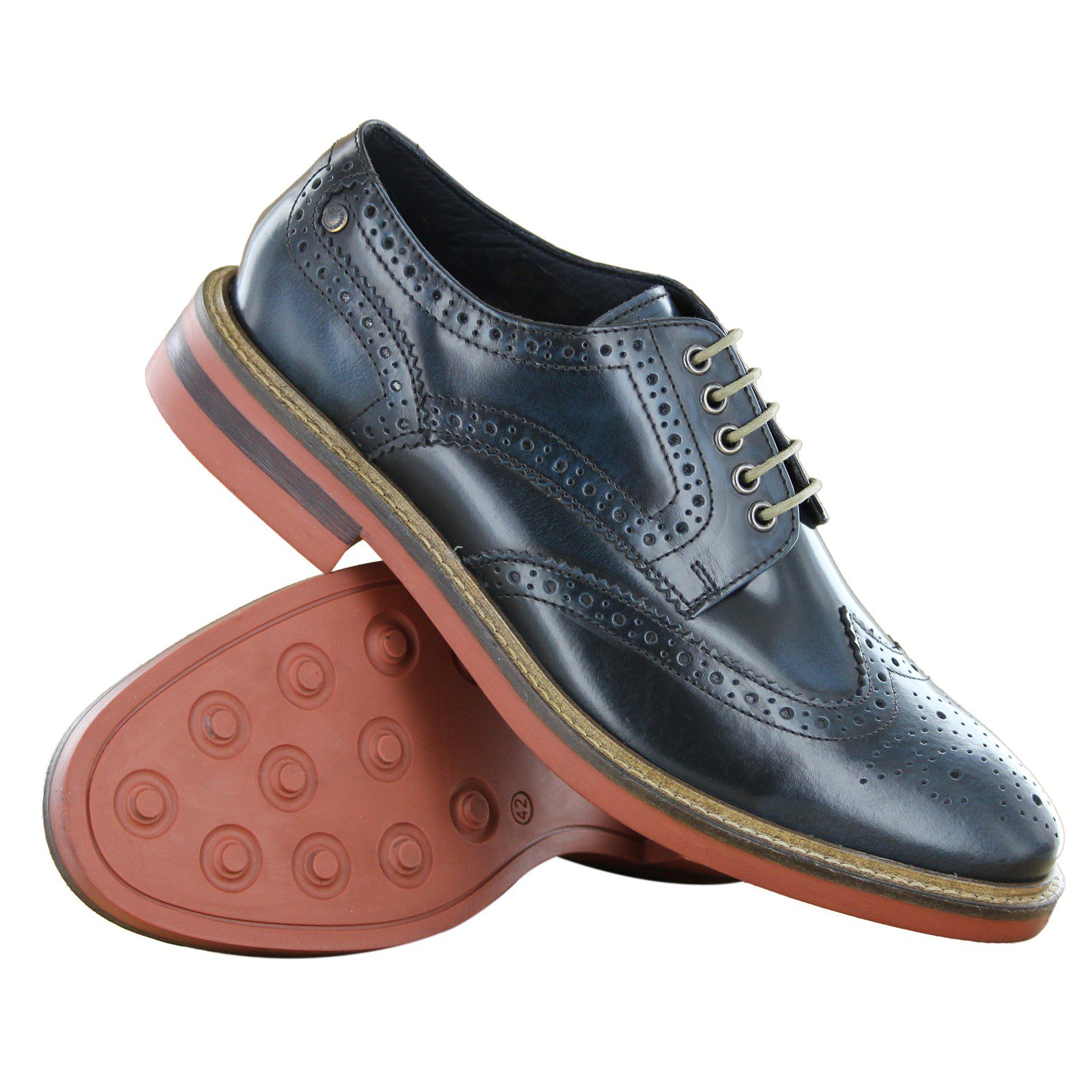 Genius Men Base Blue Brogue €110
