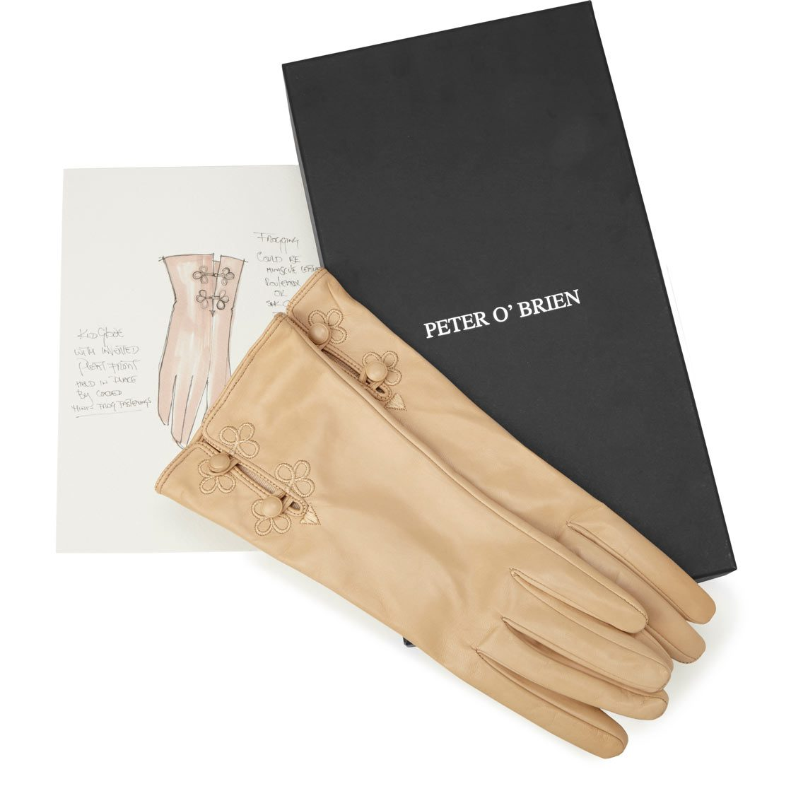 Arnotts Peter O'Brien Pleat Gloves E120