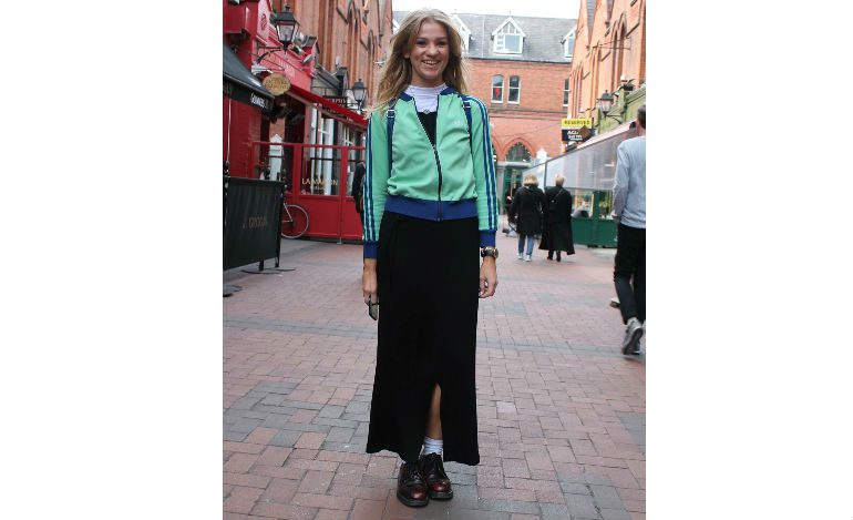 Dublin Fashion Street Style May 16