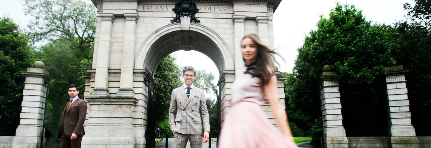 DARREN KENNEDY IS UNVEILED AS THE FACE OF DUBLIN FASHION FESTIVAL
