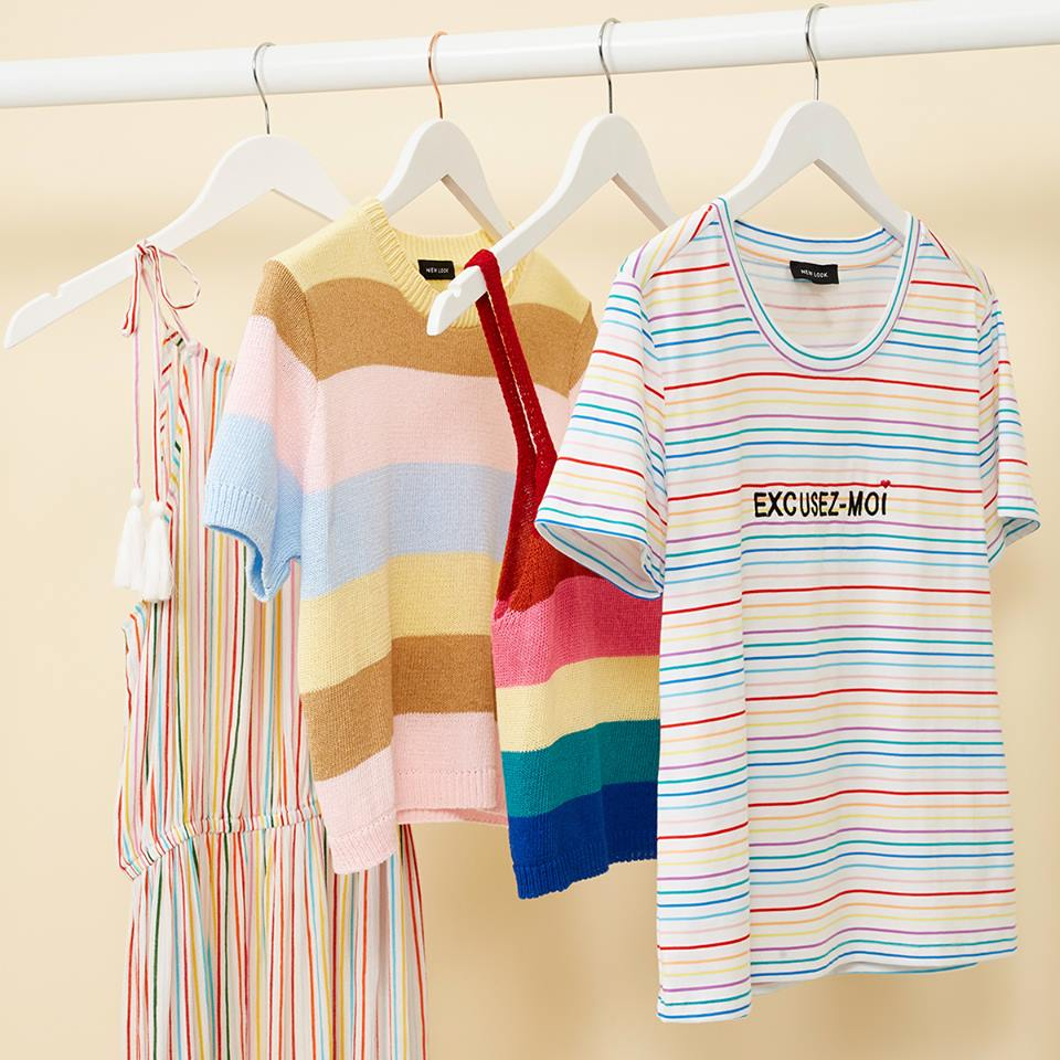 Post-Pride trends with New Look's Rainbow Style Fashion