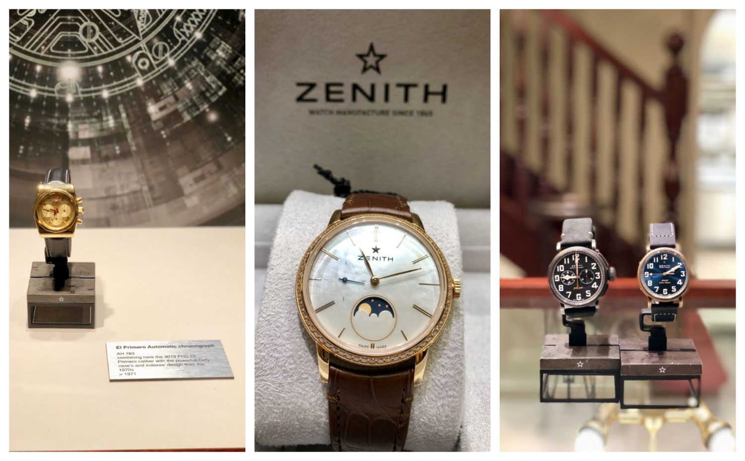 See the Zenith Watch Collection Exclusively at Weir and Sons