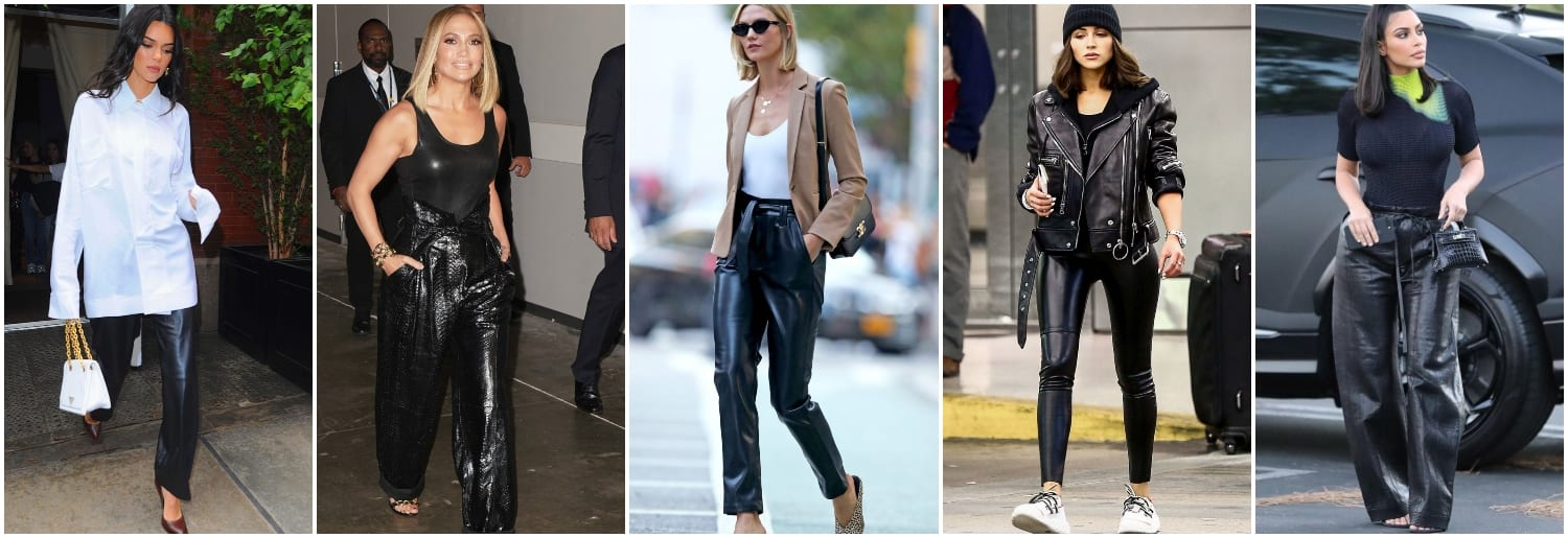 Top 10 Leather Trousers for Winter 2019