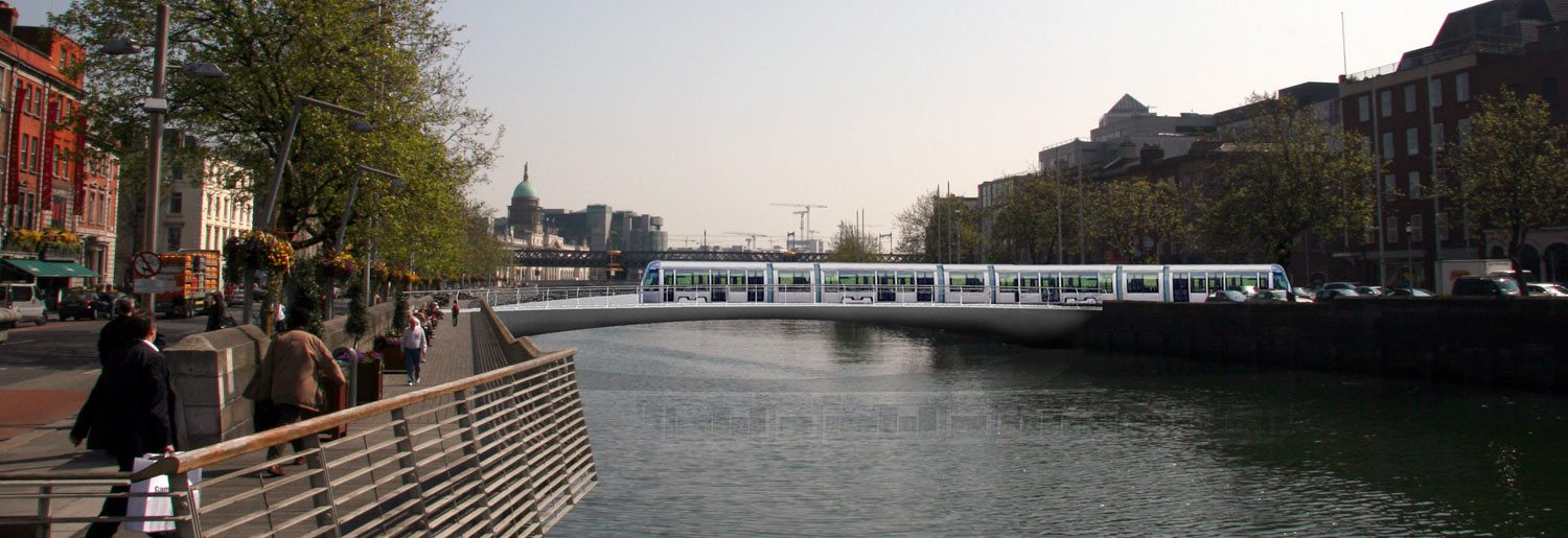New Luas Lines – Before & After