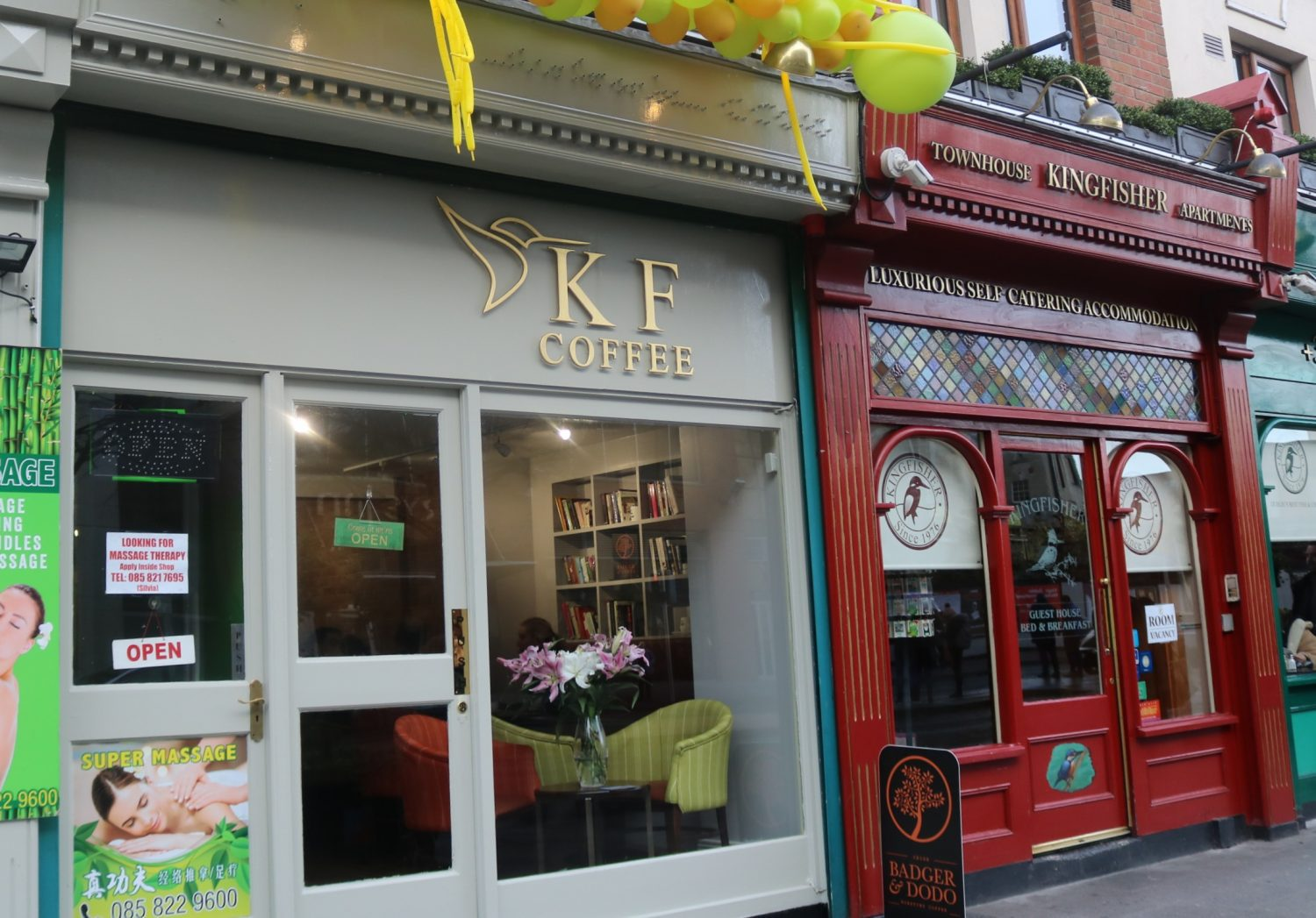 KF Coffee on Parnell Street