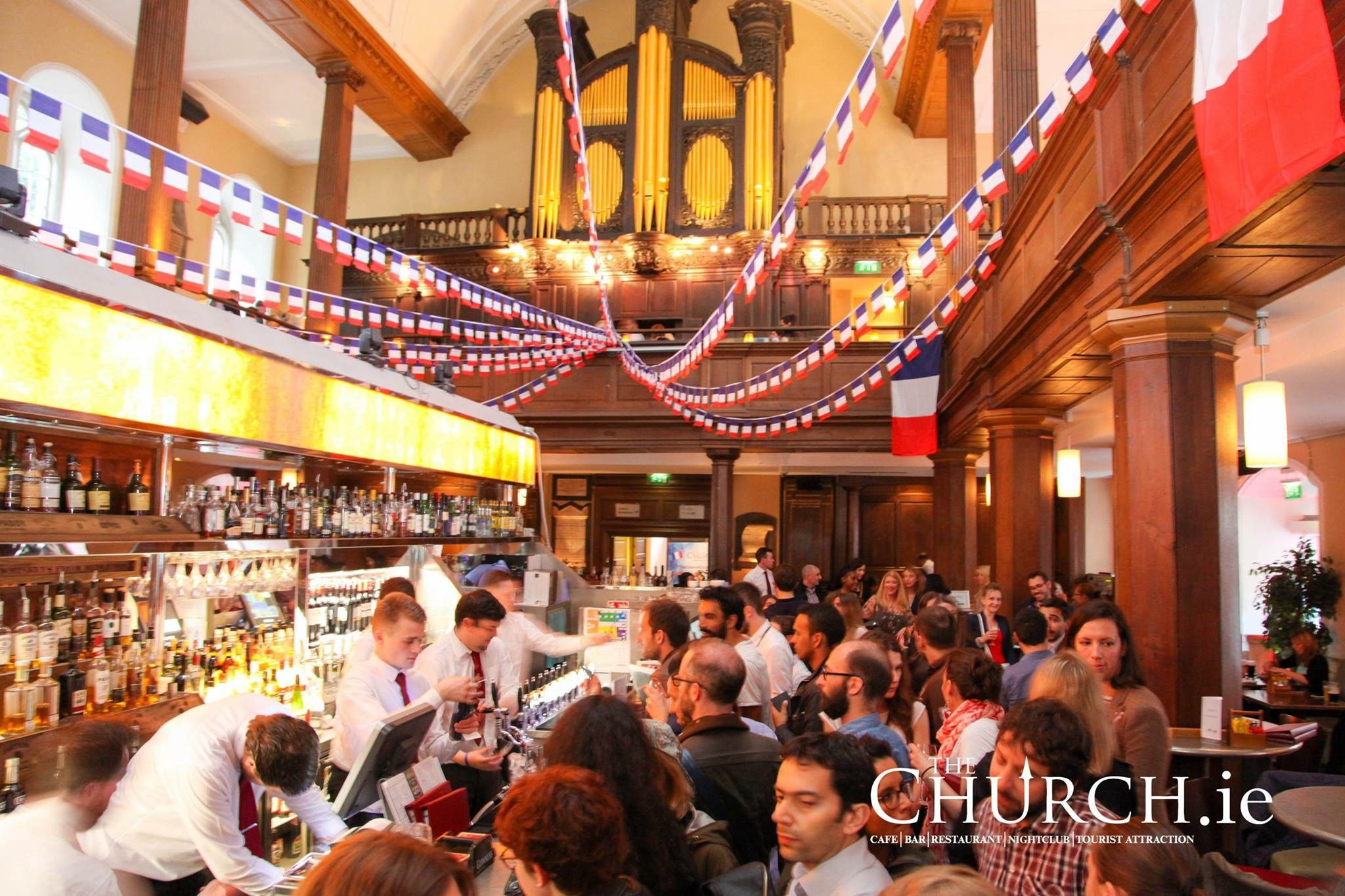 Celebrate Bastille Day at The Church Bar and Restaurant