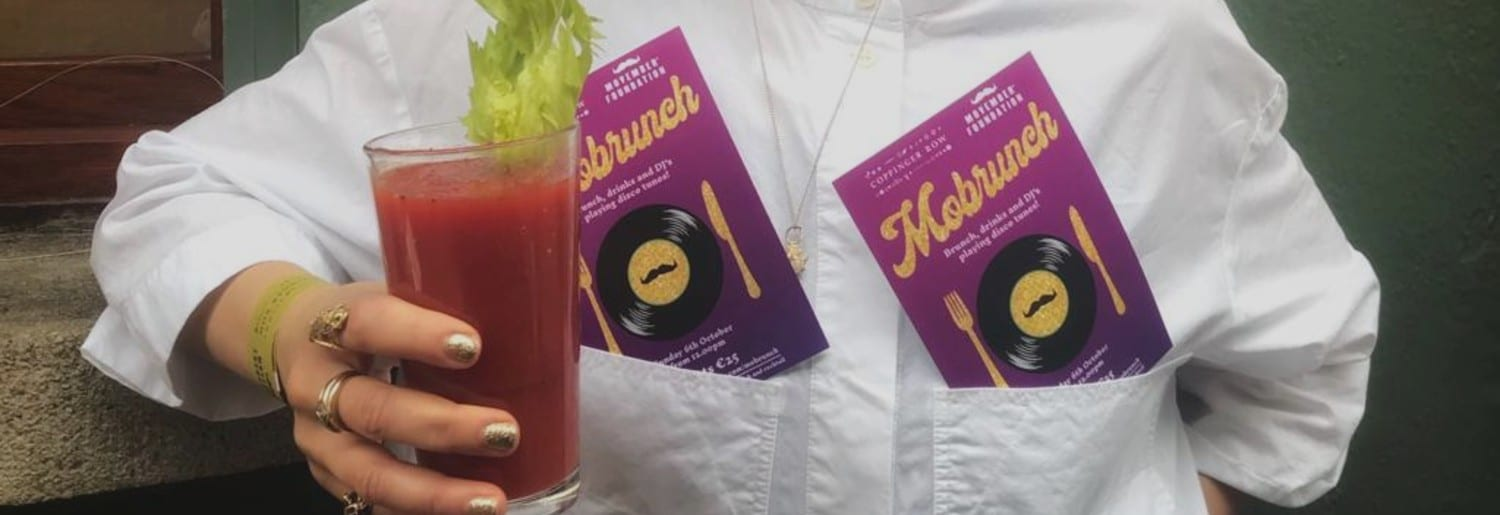 Coppinger Row have Teamed Up with Movember Ireland to host Mobrunch