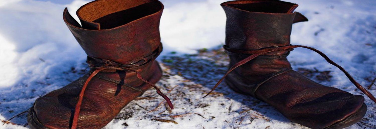 My Museum: Make a Viking Shoe Family Activity