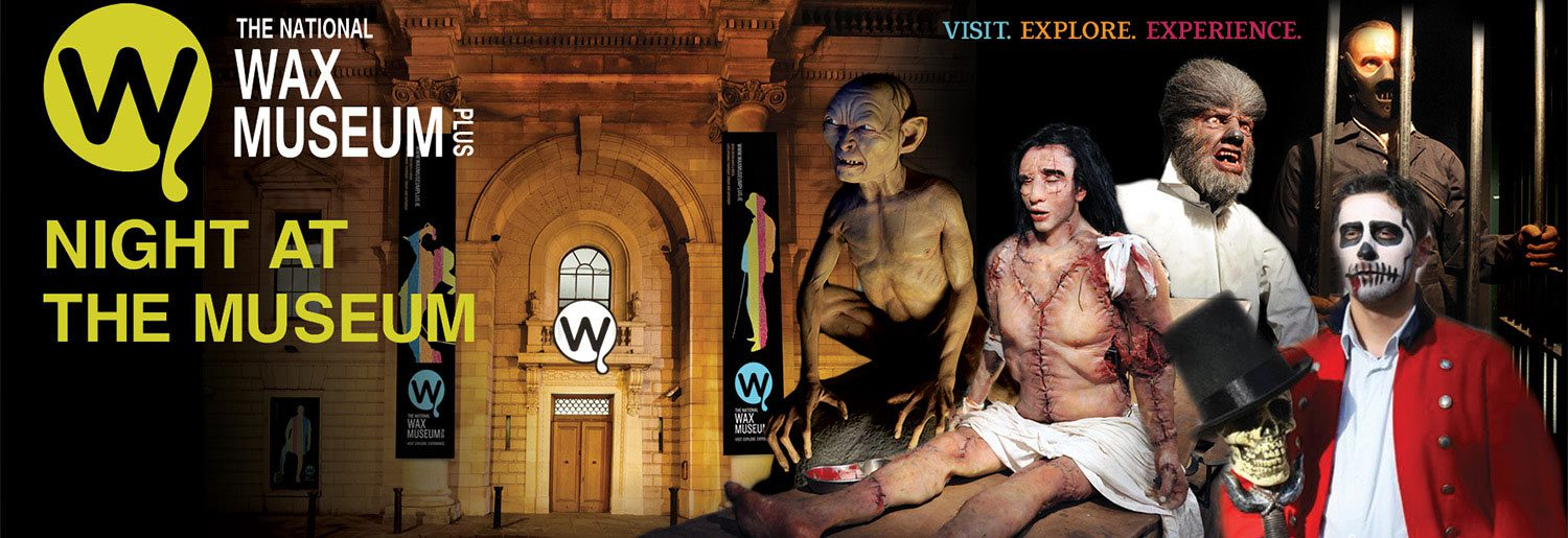 Evening Group Tours at Wax Museum Plus