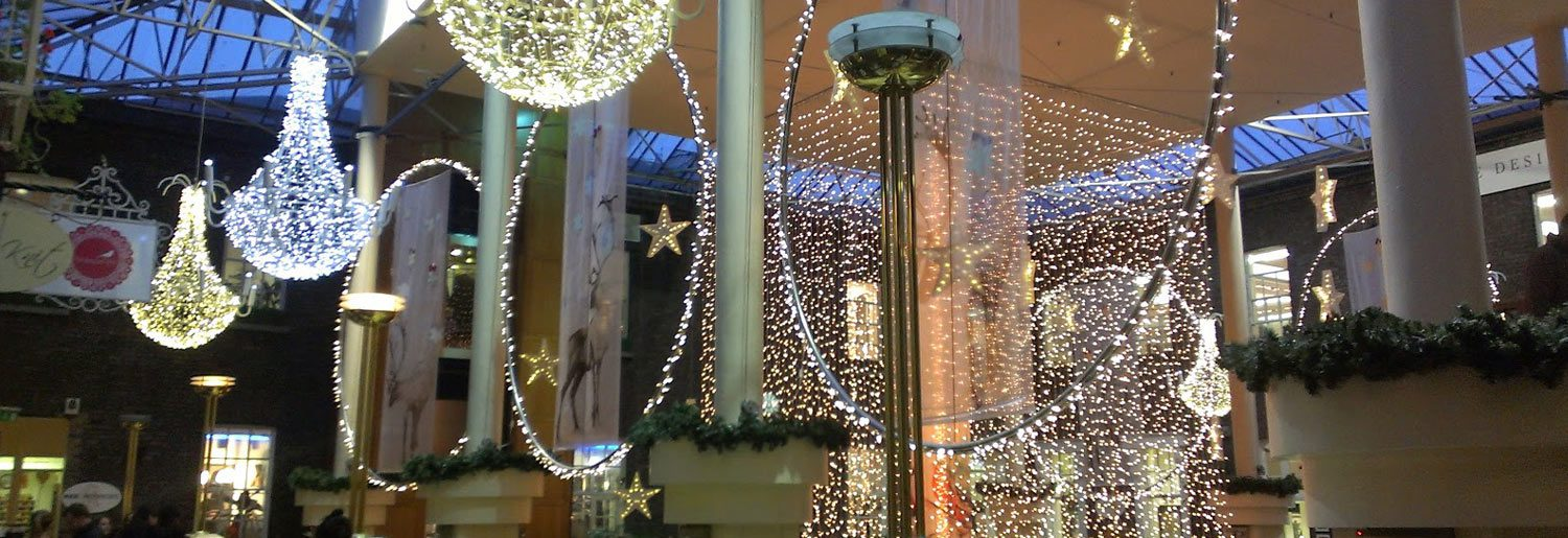 It sounds like Christmas at Powerscourt Townhouse Centre