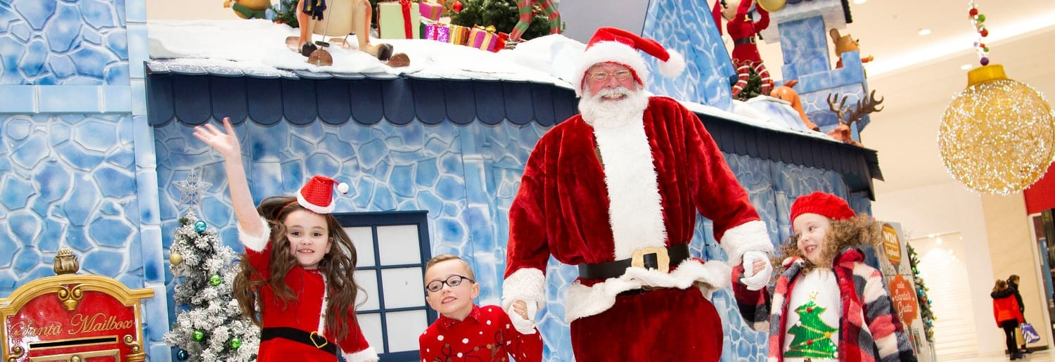 Jervis Shopping Centre Welcomes Santa and His Magical Castle